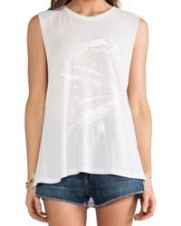 Obey Never Sleep Tank - Lyst