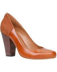 Aldo Lauralee Block Heel Court Shoes - Lyst