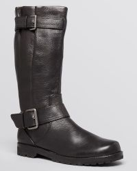 Gentle Souls Boots  Buckled Up Tall Shaft - Lyst