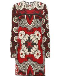 Valentino Printed Dress - Lyst