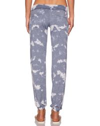 Saint Grace - Sam Bleach-Detail Sweatpants - Lyst