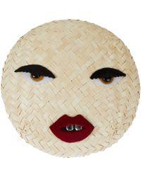 Benoit Missolin - Natural Doll Face Straw Pill Box Hat - Lyst