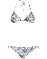 Matthew Williamson Songbird Swim Triangle Bikini - Lyst