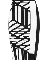 Roland Mouret Dartmoor Stretch-knit Pencil Skirt - Lyst