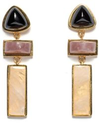 Lizzie Fortunato Villa Earrings In Gold gold - Lyst