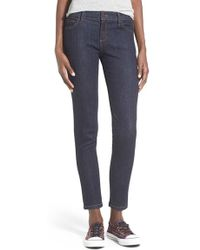 Hart Denim - 'yuri' Ultra Stretch Crop Skinny Jeans - Lyst
