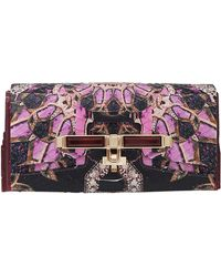 Kara Ross Lux Clutch - Lyst