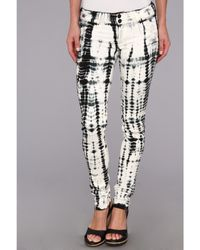 Hudson Collin Skinny in Illusions - Lyst
