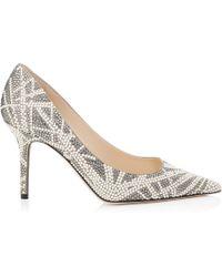 Jimmy Choo - Agnes Embellished Court Shoes - Lyst
