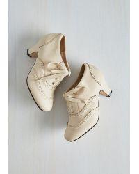 T.U.K. - Dance It Up Heel In Cream - Lyst