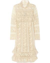 Isabel Marant Inny Crocheted Cottonlace Dress - Lyst