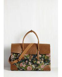 Nila Anthony - Clever Endeavor Weekend Bag In Bloom - Lyst