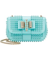 Christian Louboutin Sweety Charity Spiked Crossbody - Lyst