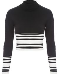 Jane Norman | Co-ord Long Sleeve Jumper Style Top | Lyst