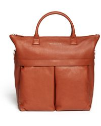 Want Les Essentiels De La Vie 'O'Hare Ii' Leather Shopper Tote - Lyst