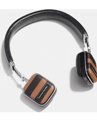 COACH - Harman Kardon Soho Varsity Stripe Wireless Headphone - Lyst