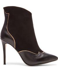 Raye   Talen Leather Western Boots   Lyst