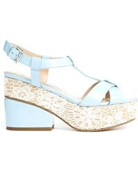 Asos Happily Ever After Heeled Sandals - Lyst