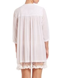 Roberta Roller Rabbit | Crochet-embroidered Serafina Tunic | Lyst