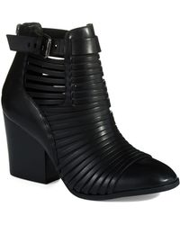Circus By Sam Edelman Talon Ankle Booties - Lyst