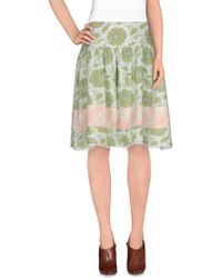 Noa Noa - Knee Length Skirt - Lyst