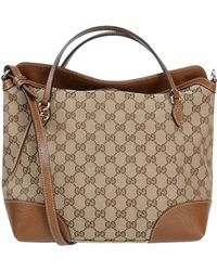 Gucci Handbag beige - Lyst