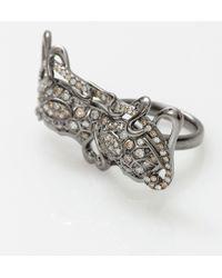 Bochic | Diamond Mask Ring | Lyst