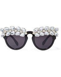 Nasty Gal Get Jeweled Shades - Lyst
