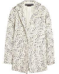 Rochas Bouclé-Tweed Jacket - Lyst