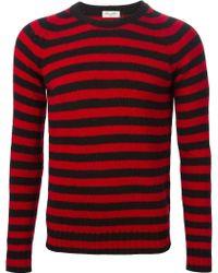 Saint Laurent | Striped Sweater | Lyst