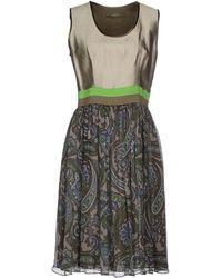 Etro Knee-Length Dress - Lyst