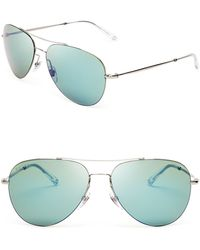 Gucci Mirrored Aviator Sunglasses - Lyst