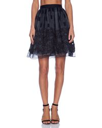 Alice + Olivia Pia Pouf Skirt - Lyst
