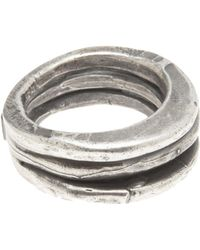 Goti - Triple Stack Ring - Lyst