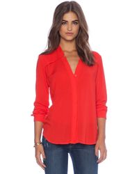 Splendid Long Sleeve Top - Lyst