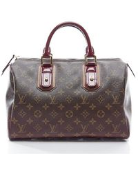 Louis Vuitton Preowned Bordeaux Mirage Speedy 30 Bag - Lyst