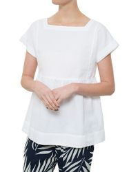 MiH Jeans The Caraco Top - Lyst