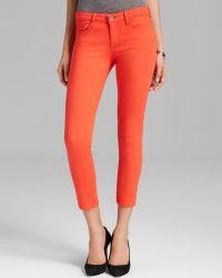 Big Star - Jeans Alex Crop in Coral - Lyst