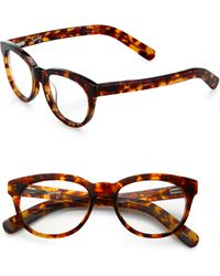 Elizabeth And James Preppy 49Mm Round Optical Glasses - Lyst