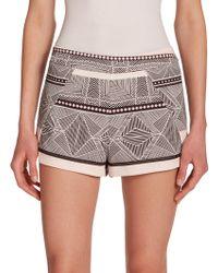 Townsen Diamond-Print Shorts multicolor - Lyst