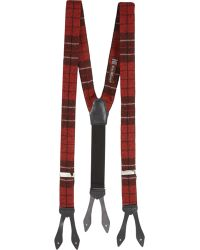 """Alexander Olch - Plaid Wool """"The Advocate"""" Suspenders - Lyst"""