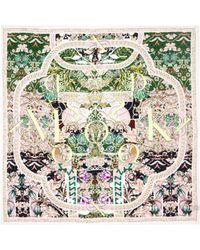 Mary Katrantzou Scarf 70 X 70 Calligraphy Candy - Lyst