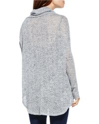 Two By Vince Camuto - Hi-lo Turtleneck Jumper - Lyst