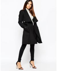 Warehouse | Belted Coat | Lyst