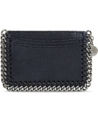 Stella McCartney | Navy Falabella Shaggy Deer Card Holder | Lyst