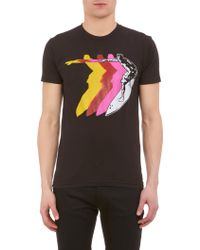 Barneys New York Multicolor Surferprint Tshirt - Lyst