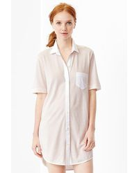 Gap Jersey Nighshirt - Lyst