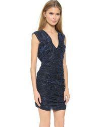 IRO Hoxan Dress - Dark Blue - Lyst