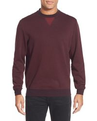 Bugatchi | Long Sleeve Knit Sweatshirt | Lyst