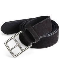 Polo Ralph Lauren Heritage Suede Belt - Lyst